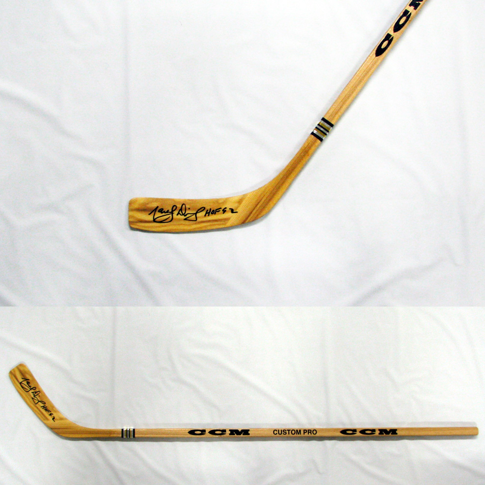 MARCEL DIONNE Signed CCM Stick with HOF 92 inscription - Los Angeles Kings