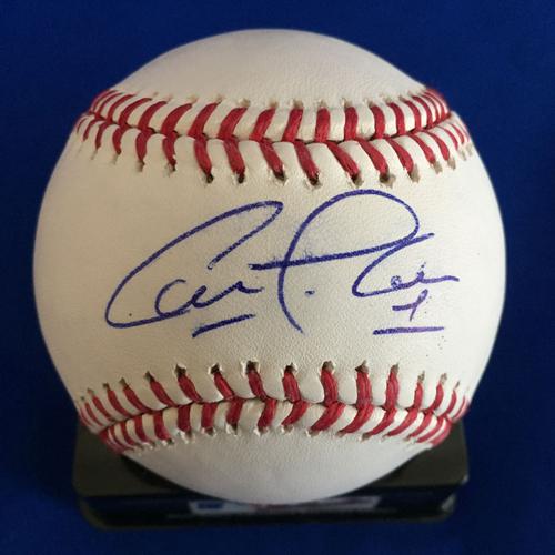 Photo of UMPS CARE AUCTION: Carlos Correa Signed Baseball