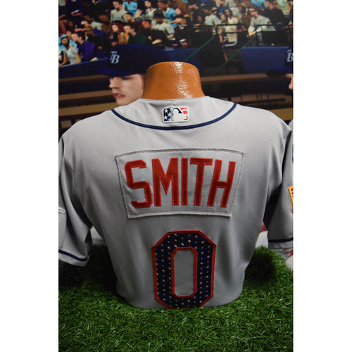 Photo of 2017 Game-Used July 4th Jersey: Mallex Smith