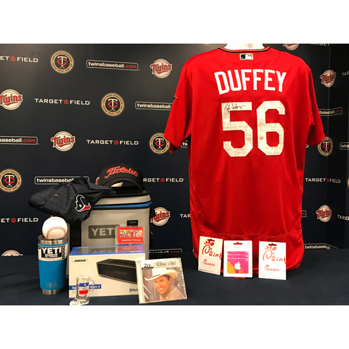 2017 Twins Favorite Things Auction: Tyler Duffey Favorite Things Basket