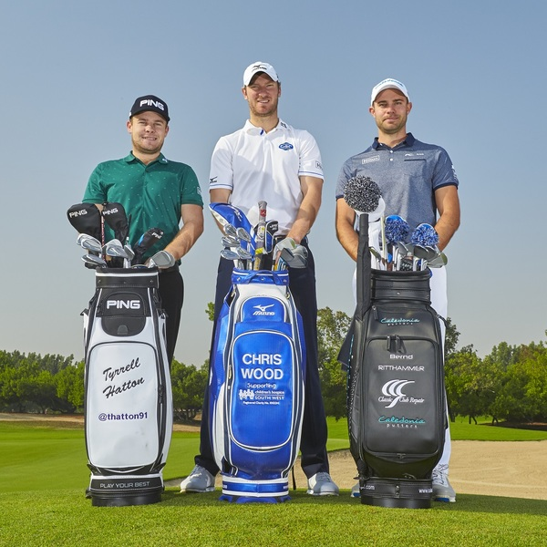 Click to view Signed Memoriabilia from Hilton Golf Ambassadors Chris Wood, Tyrrell Hatton and Bernd Ritthammer.
