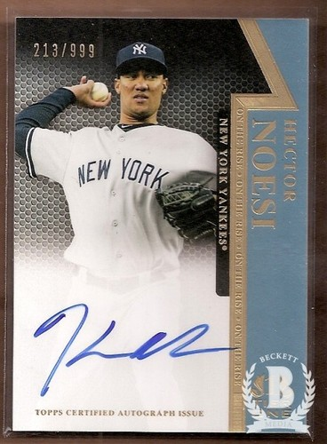 Photo of 2011 Topps Tier One On The Rise Autographs #HN Hector Noesi/999
