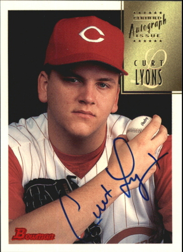 Photo of 1997 Bowman Certified Blue Ink Autographs #CA50 Curt Lyons