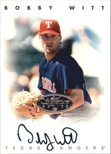 Photo of 1996 Leaf Signature Autographs Silver #248 Bobby Witt