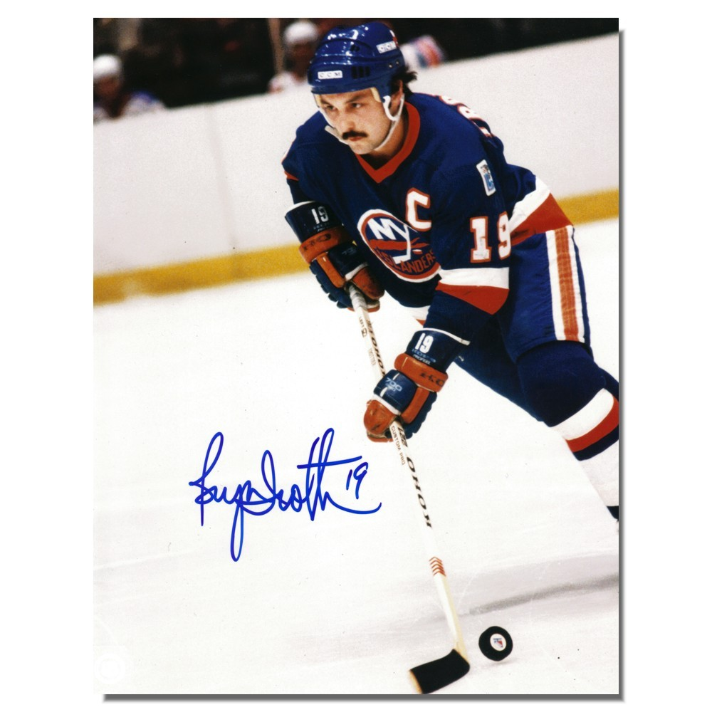 Bryan Trottier Autographed New York Islanders 8x10 Photo