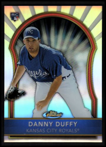 Photo of 2011 Finest Refractors #65 Danny Duffy Rookie Card parallel #d/549