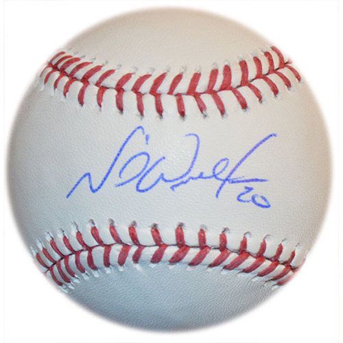 Photo of Neil Walker - Autographed Major League Baseball