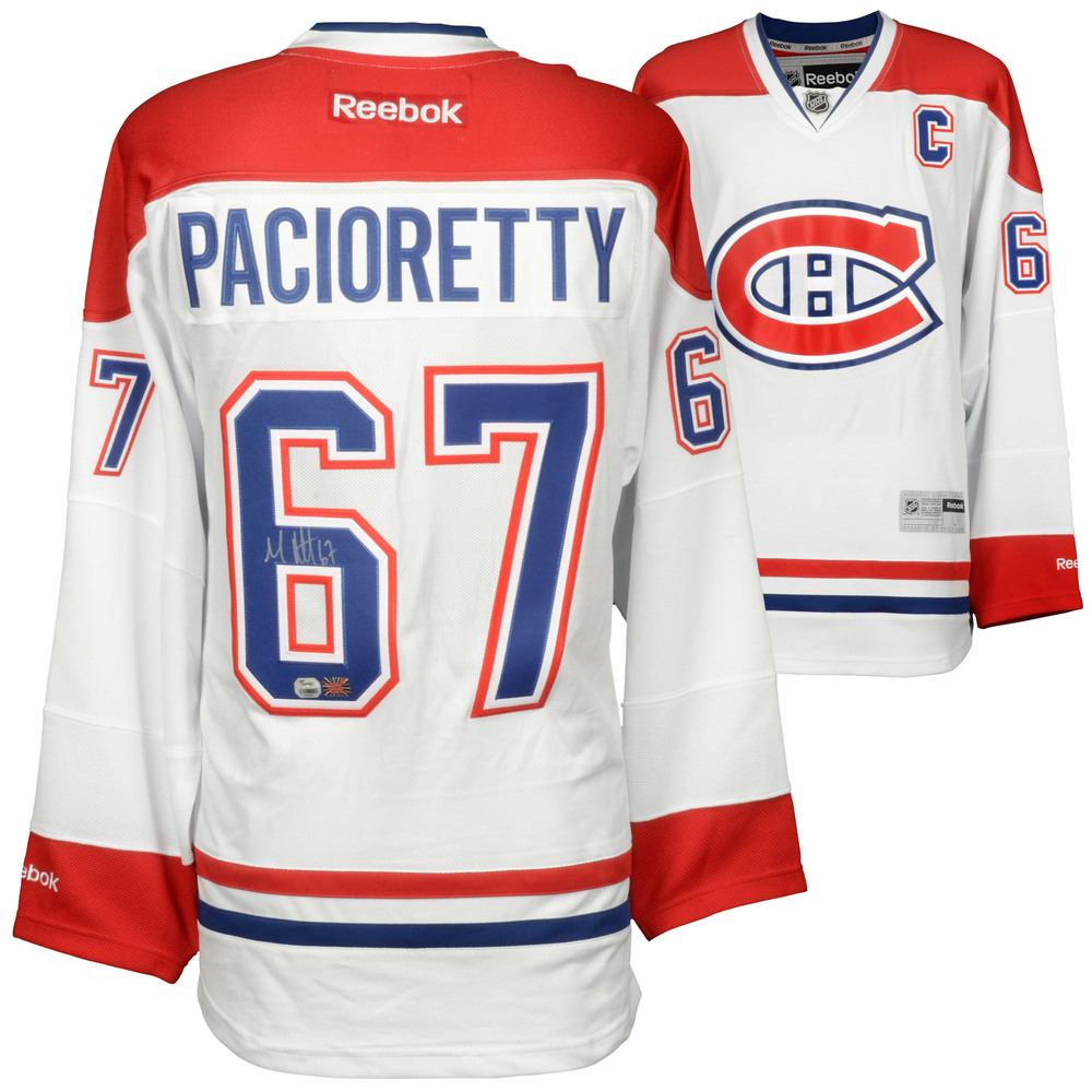 Max Pacioretty Montreal Canadiens Autographed White Reebok Premier Jersey