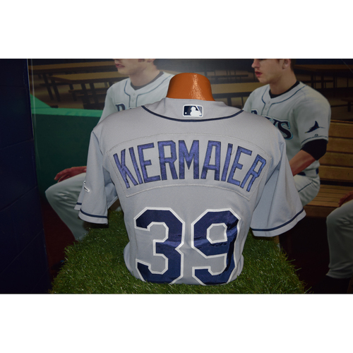 Photo of Final Away Series of 2016 Game Used Jersey: Kevin Kiermaier