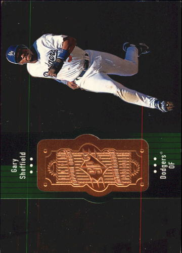 Photo of 1998 SPx Finite #289 Gary Sheffield