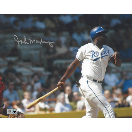 Photo of John Mayberry Autographed Photo