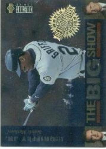 Photo of 1997 Collector's Choice The Big Show World Headquarters #43 Ken Griffey Jr.