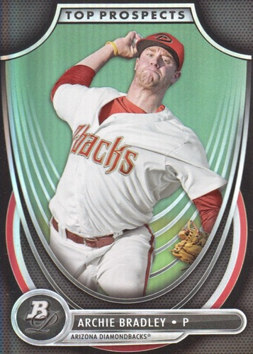 Photo of 2013 Bowman Platinum Top Prospects #AB Archie Bradley -- D'backs post-season