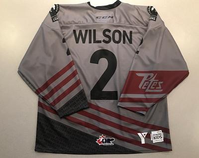 Hudson Wilson (#2) - '93 Petes Alumni Jersey