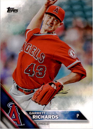 Photo of 2016 Topps #98 Garrett Richards