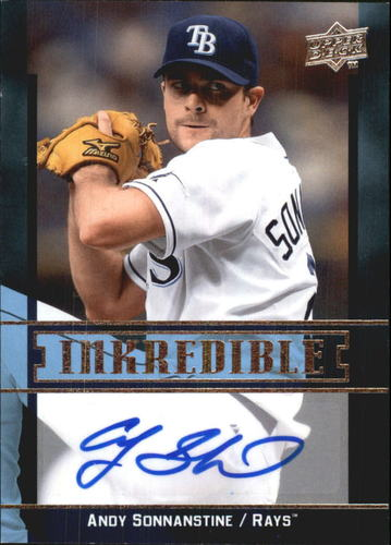 Photo of 2009 Upper Deck Inkredible #SO Andy Sonnanstine