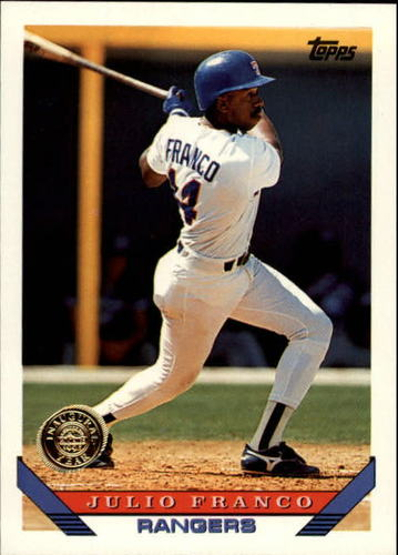 Photo of 1993 Topps Inaugural Rockies #670 Julio Franco