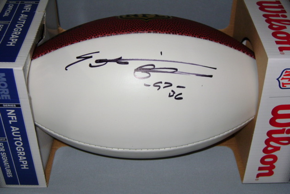 NFL - VIKINGS EVERSON GRIFFEN SIGNED PANEL BALL