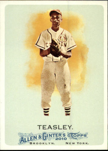 Photo of 2010 Topps Allen and Ginter #291 Ron Teasley