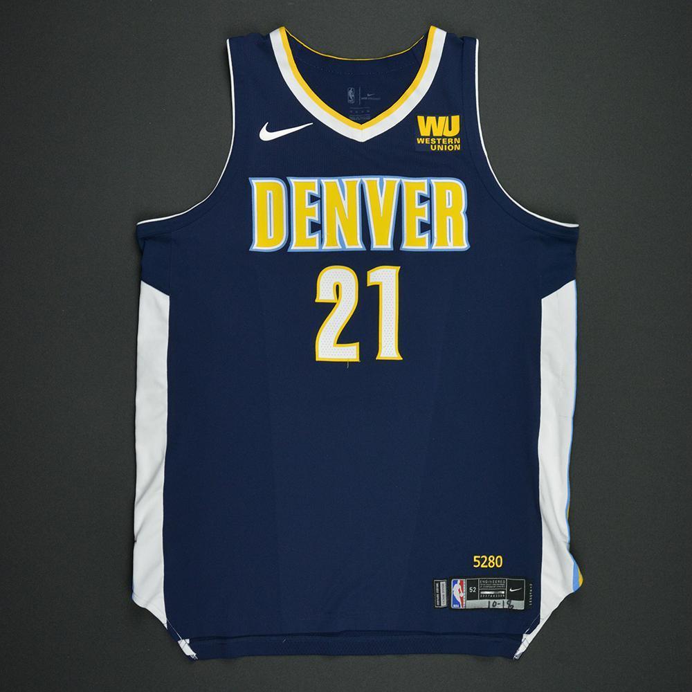 Wilson Chandler - Denver Nuggets - Kia NBA Tip-Off 2017 - Game-Worn Jersey
