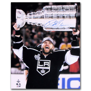 Marian Gaborik Autographed Los Angeles Kings 2014 Stanley Cup 16X20 Photo