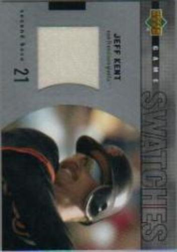 Photo of 2003 Upper Deck Game Swatches #RJJK Jeff Kent
