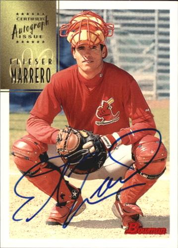 Photo of 1997 Bowman Certified Blue Ink Autographs #CA51 Eli Marrero