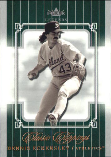 Photo of 2005 Classic Clippings #96 Dennis Eckersley LGD