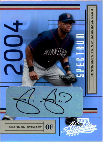 Photo of 2004 Absolute Memorabilia Signature Spectrum Silver #118 Shannon Stewart/100