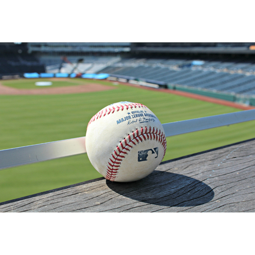Photo of Game-Used Baseball: Kyle Seager SGL off KC's Brooks Pounders - (July 10, 2016 - SEA at KC)