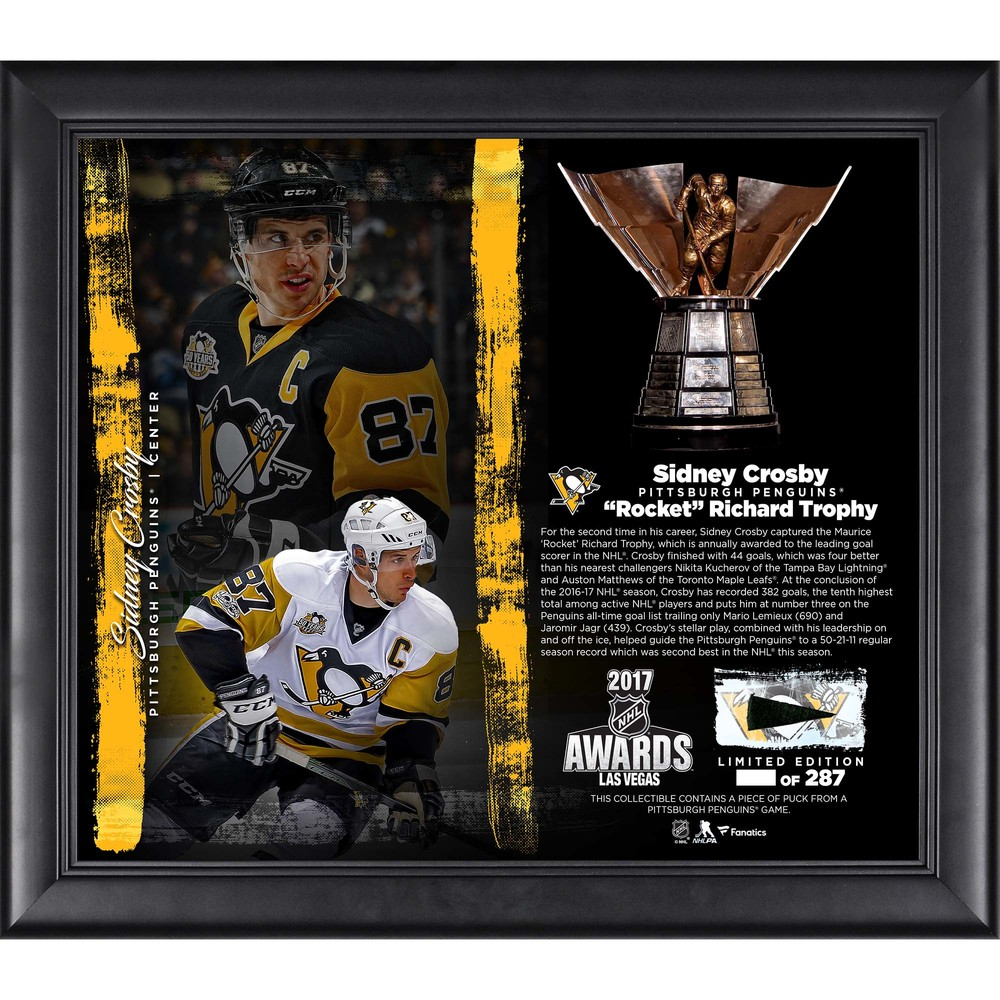 Sidney Crosby Pittsburgh Penguins Framed 15