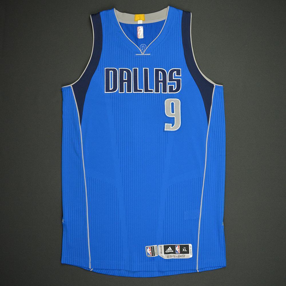 Nicolas Brussino - Dallas Mavericks - Game-Issued Rookie Season Jersey - 2016-17 Season