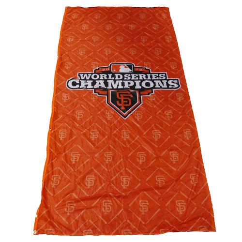 Photo of San Francisco Giants - 2012 World Series Champions Cloth Banner (Orange - Portrait)
