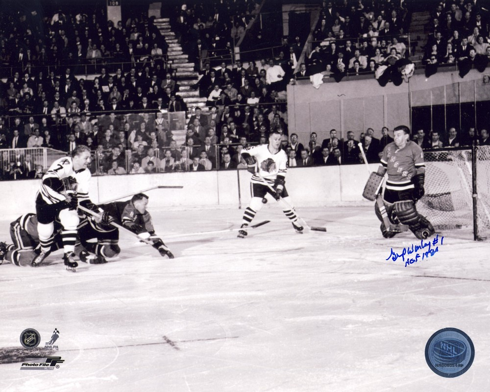 GUMP WORSLEY New York Rangers Autographed 8x10 Photo