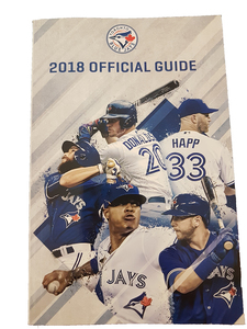 Toronto Blue Jays 2018 Official Media Guide