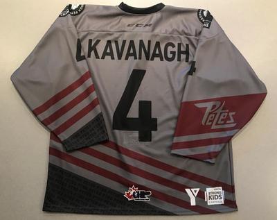 Josh Kavanagh (#4) - '93 Petes Alumni Jersey