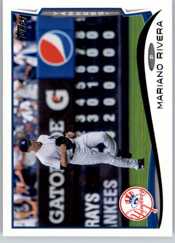 Photo of 2014 Topps #42 Mariano Rivera