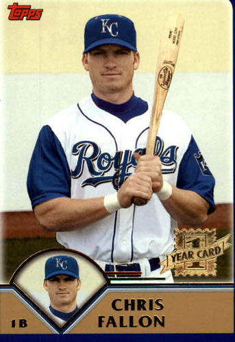 Photo of 2003 Topps Traded #T263 Chris Fallon FY RC