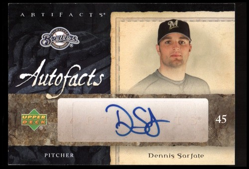 Photo of 2007 SPx Autofacts Preview #DS Dennis Sarfate