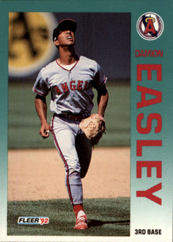 Photo of 1992 Fleer Update #9 Damion Easley RC