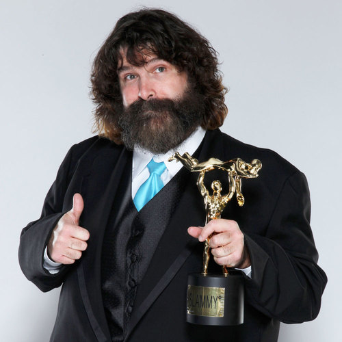 Mick Foley SIGNED WWE Replica Slammy Award