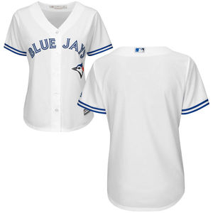 Toronto Blue Jays Women's Cool Base Replica Home Jersey by Majestic