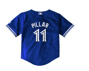 Toronto Blue Jays Kids Cool Base Replica Kevin Pillar Alternate Jersey by Majestic
