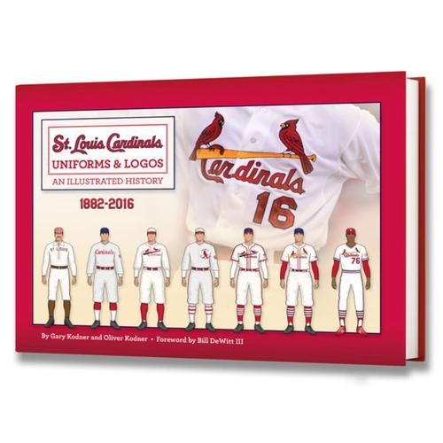 Cardinals Authentics: St. Louis Cardinals Uniforms & Logos: An Illustrated History 1882-2016 Book
