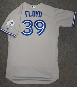 Toronto Blue Jays Authenticated Game Used Opening Day 2016 Jersey - #39 Gavin Floyd