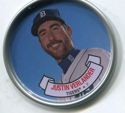 Photo of 2017 Topps Archives Coins #C10 Justin Verlander