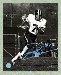 Joe Theismann Toronto Argonauts Autographed Rushing 8x10 Photo