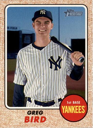 Photo of 2017 Topps Heritage #488 Greg Bird   -- Yankees post-season