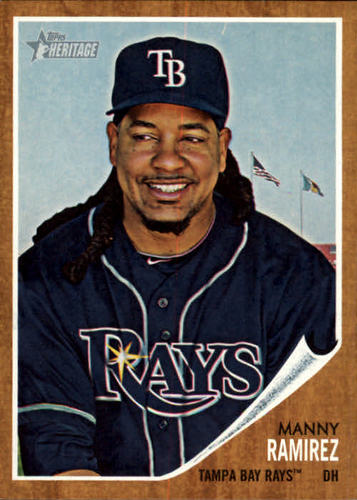 Photo of 2011 Topps Heritage #87 Manny Ramirez