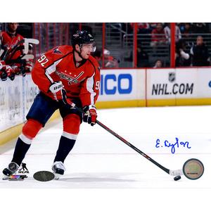 Evgeny Kuznetsov Signed Washington Capitals Playmaker 8x10 Photo